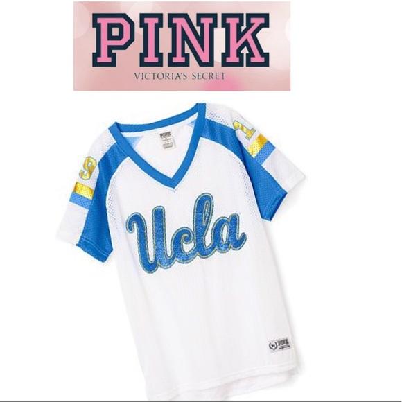 PINK Victoria's Secret Tops - NWT PINK Victoria's Secret UCLA jersey, size small